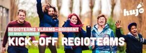 Banner Kick-off regioteams